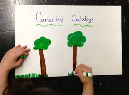 canceling catalogs u003d saving trees u003d an easy earth day project