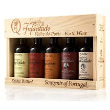 wine gift boxes port wine gift box 5x50ml miniatures quinta do infantado