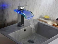 Led Bathroom Faucets Homethangs Com Introduces A Guide To Decorative Led Faucets