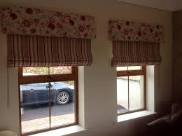 Roman Blinds For Kitchen Beautiful Floral Upholstered Pelmets U0026 Stripe Roman Blinds By The
