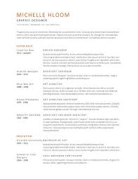 Resume Free Samples by Subtle Creativity Free Resume Template By Hloom Com Interview