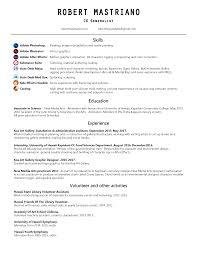 Casting Assistant Resume U2013 Robert Mastriano