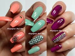 3 easy accent nail ideas stamping khrystynas nail art youtube