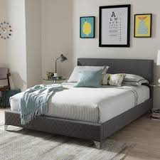 gray beds u0026 headboards bedroom furniture the home depot