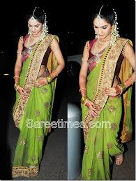 engagement sarees for sareetimes sneha reddy
