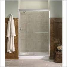 Fluence Shower Door Kohler Frameless Sliding Glass Shower Doors Finding Kohler