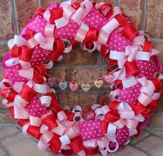 s day ribbon wreath