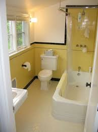 Yellow Tile Bathroom Paint Colors by 34 Retro Yellow Bathroom Tile Ideas And Pictures Yellow 60s