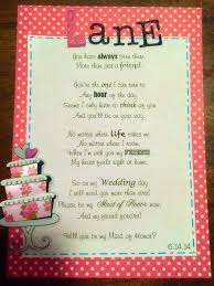 asking bridesmaids poems you always been there wedding card poem wedding party