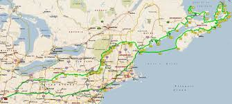 Boston Ferry Map by Two Bob U0027s Nova Scotia 2015 Nyc To Cape Breton Via Ferry