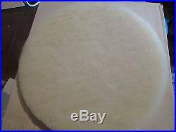 of 5 floor maintenance pads white floor buffer high