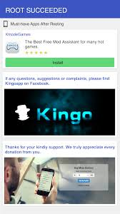 kingo root android kingoroot for android appstore for android