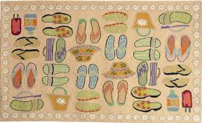 Beach Rug Tropical Nautical Accent And Area Rugs