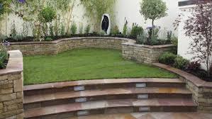 split level garden design owen chubb garden landscapers patio