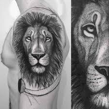lion shoulder tattoo best tattoo ideas gallery