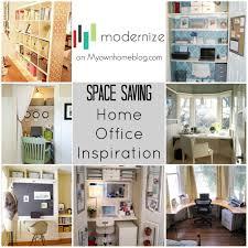 prepossessing 40 space saving home office decorating design of