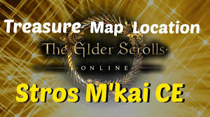 Stormhaven Ce Treasure Map The Elder Scrolls Online Treasure Map Location Stros M U0027kai Ce