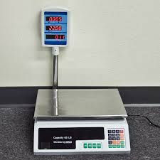 new 60 66 lb digital food meat produce price weight computing