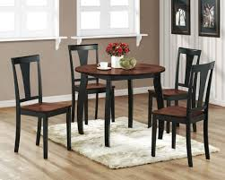 Dining Room Interior Dining Room With Oval Solid Wood Dining Table - Round kitchen table sets