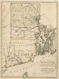 map usa rhode island the rhode island colonial charter the crucial decade 1780s