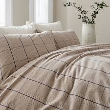 linea harold flannel duvet set house of fraser