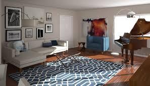 vintage modern living room before after mid century modern living room design online decorilla