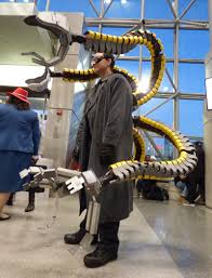 doctor octopus halloween costume brooklyn does nyc comic con 2015 brooklyn daily eagle