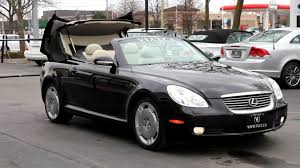 lexus convertible 2008 2002 lexus sc430 in review village luxury cars toronto youtube