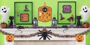 wall window decorations cutouts spooky gel clings