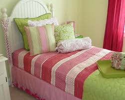 Pink And Green Kids Room by Pink Green Girls Rooms Houzz