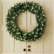 lighted christmas wreath 48 inch outdoor lighted christmas wreaths express air modern