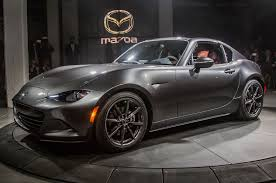 mazda types mazda mx 5 rf makes debut at new york auto show auto types