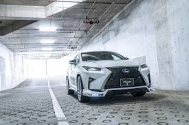 lexus rx450h tires rowen gives the lexus rx f sport more visual drama