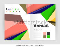 3d low poly shapes design business stock vector 522191083