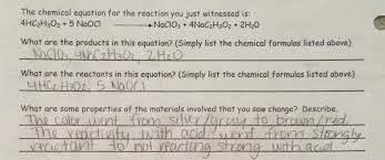 chemical equations and reactions worksheet jennarocca