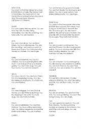 english worksheets role play worksheets page 43