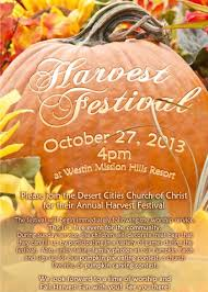 2013 harvest festival at the westin mission resort desert