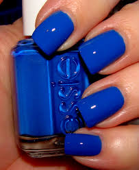 ooh i love that nail color women choose favorite shades blue