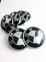 black and white bmw roundel amazon com black and white carbon fiber sticker overlay vinyl for