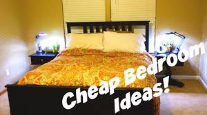 cheap bedroom decorating ideas daily vlog 478 youtube