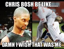 Chris Bosh Meme - chris bosh speaks out on people questioning his sexuality black