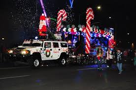 christmas light parade floats when is the festival of lights parade athlone literary festival