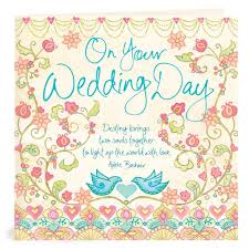 wedding day greetings on your wedding day greeting card intrinsic