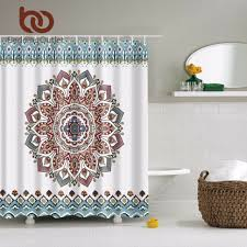Gray Paisley Shower Curtain by Curtains 481726 Phoebe Paisley Shower Curtain Boho Boutique