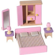 wooden dolls house bedroom furniture toys r us