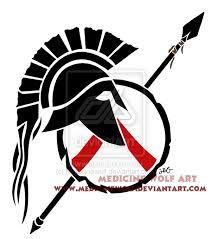 helmet tattoo u2013 nice spartan tribal design tattooshunter com