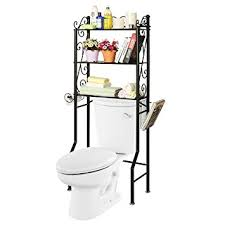 Over The Toilet Etagere Over The Toilet Metal Scrollwork 3 Shelf Bathroom Etagere Storage