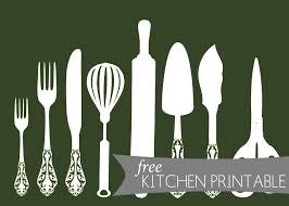 kitchen art free kitchen printable the anatomy of design