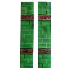 victorian fireplace tiles ebay