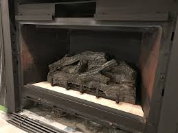 gas fireplace refresh